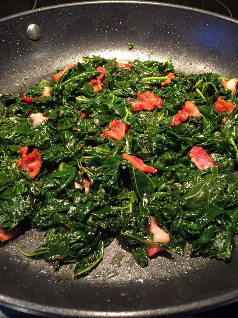 Sauteed Kale With Bacon Recipe