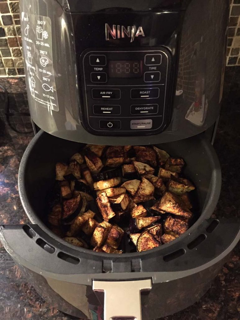 How to cook eggplant in the air fryer