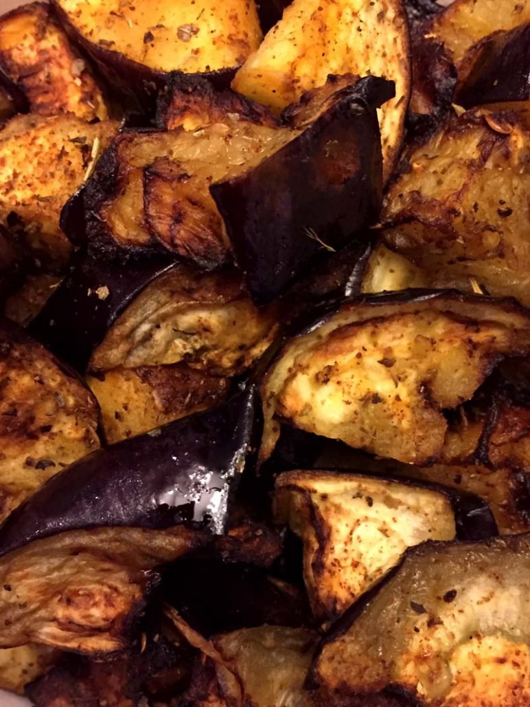 cooking eggplant in the air fryer
