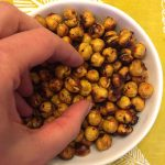Air Fryer Roasted Chickpeas - So Crispy!