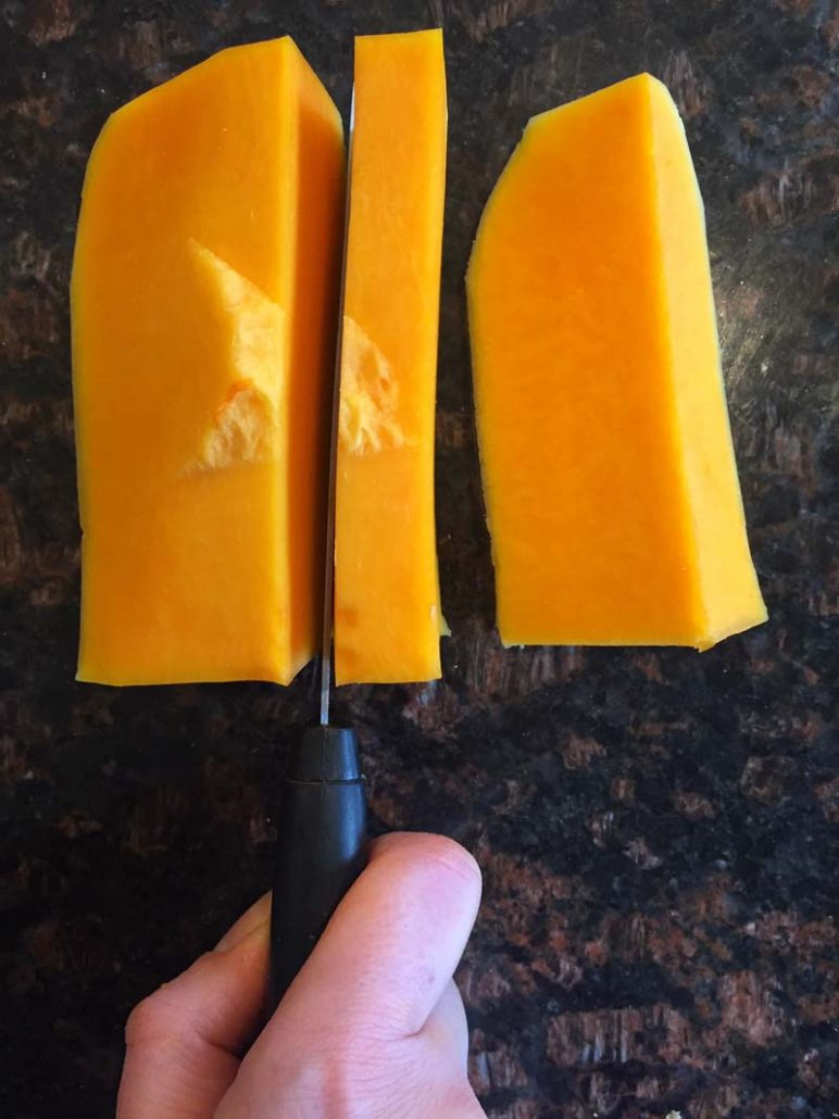 butternut squash slices