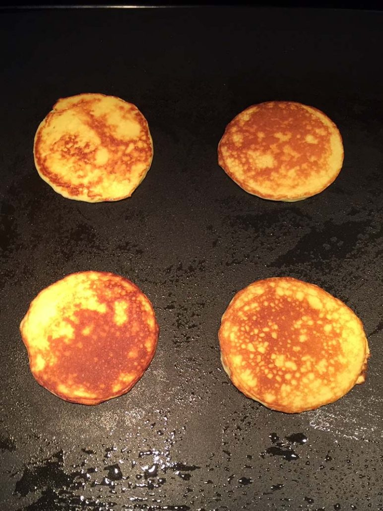 low carb pancakes with coconut flour