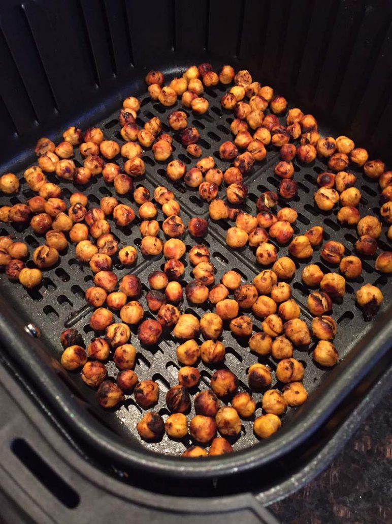 Air Fryer Roasted Chickpeas Recipe