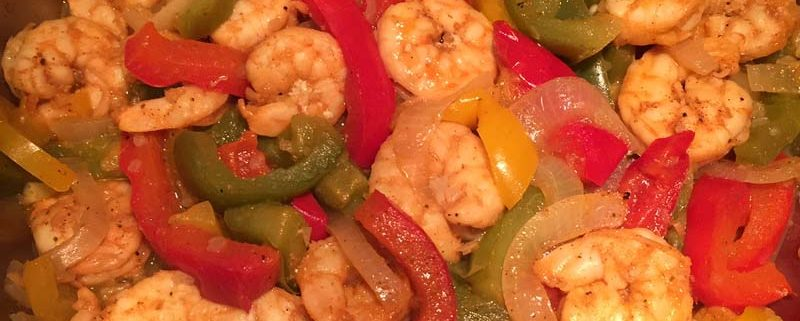 Instant Pot Shrimp Fajitas