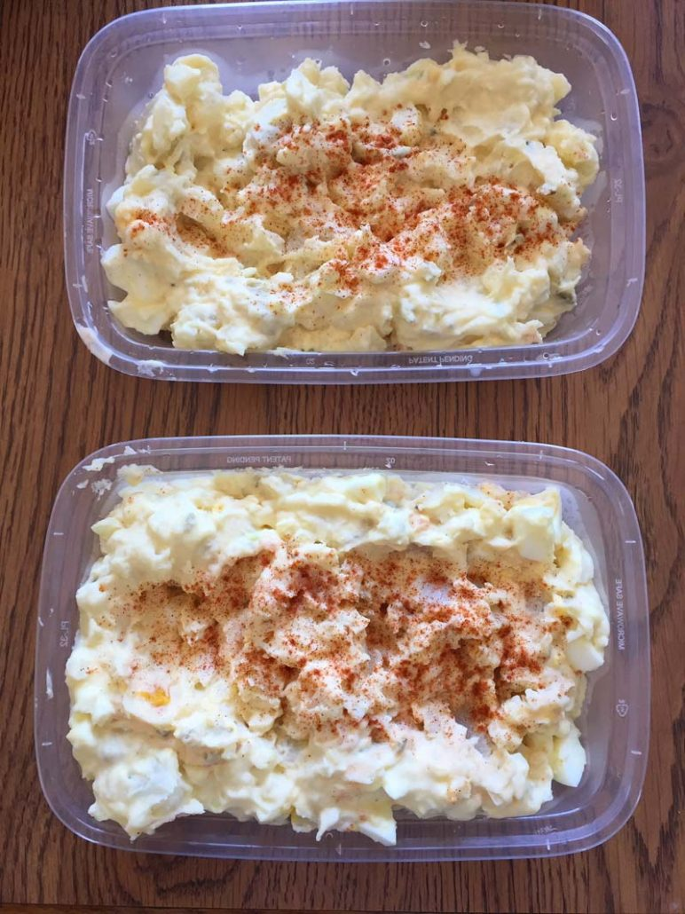 Potato Salad Meal Prep