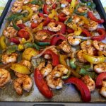 Sheet Pan Keto Shrimp Fajitas
