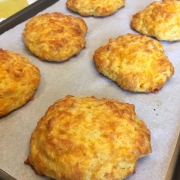 Keto Cheddar Biscuits