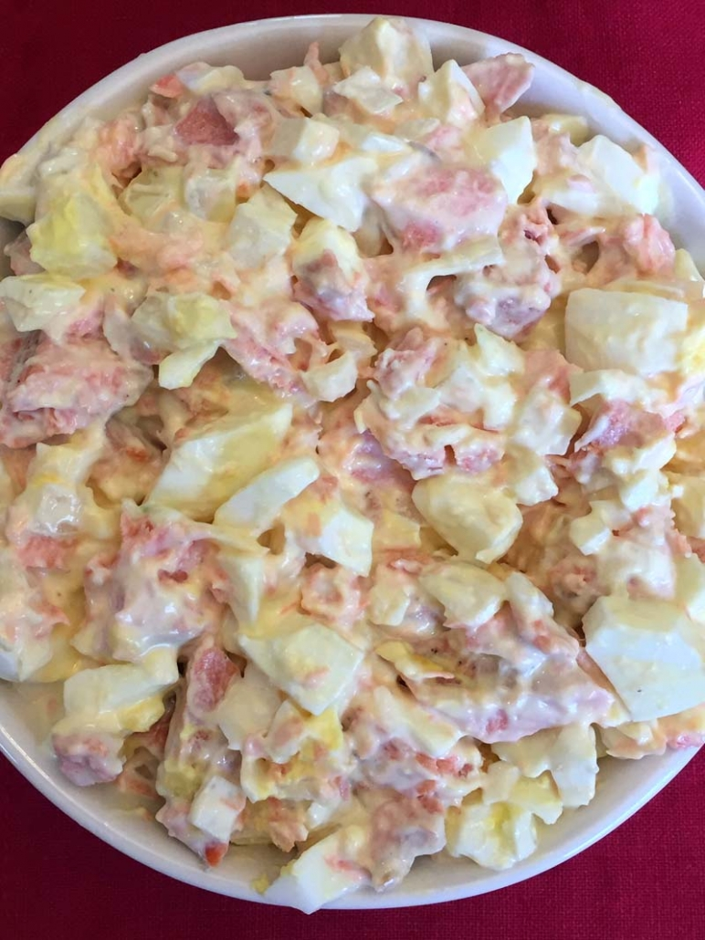 best keto salmon salad