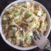 Tuna Avocado Egg Salad Recipe