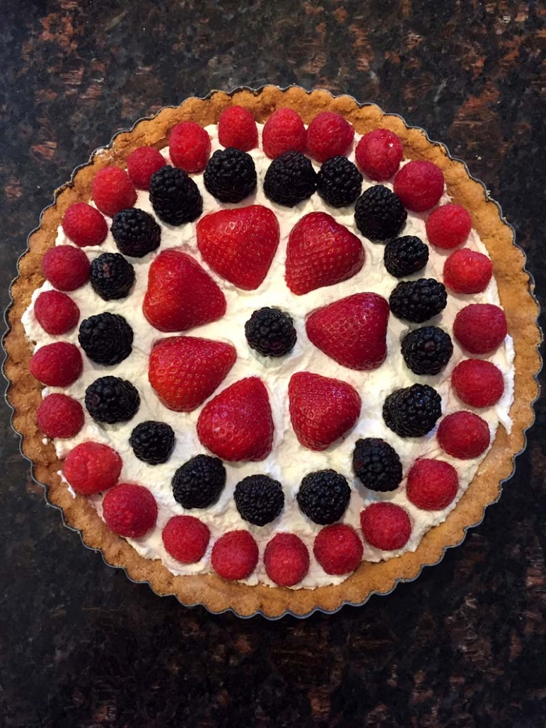 Low Carb Fruit Tart With Almond Flour