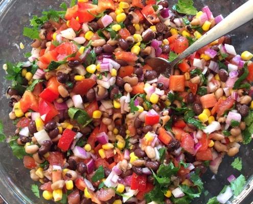 how to make cowboy caviar salad