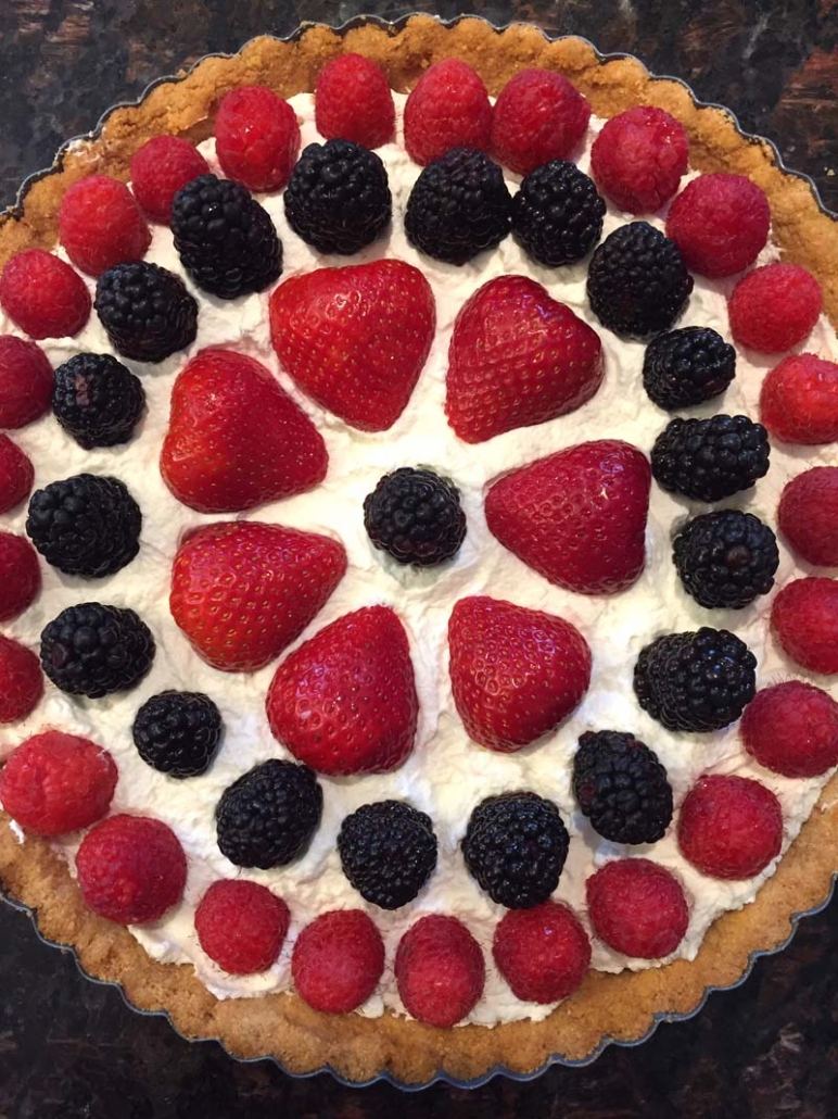 keto fruit tart recipe