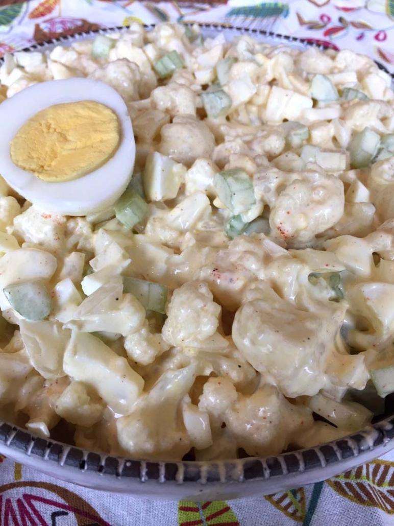 Healthy Cauliflower Potato Salad