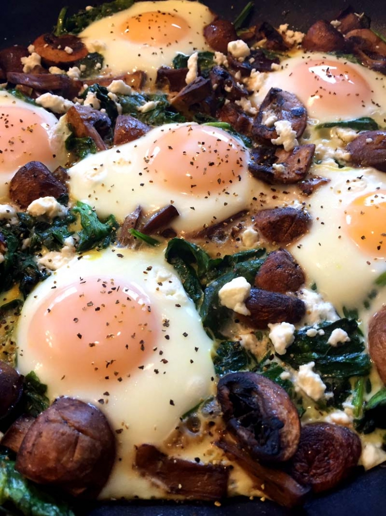 eggs in nests recipe with vegetables