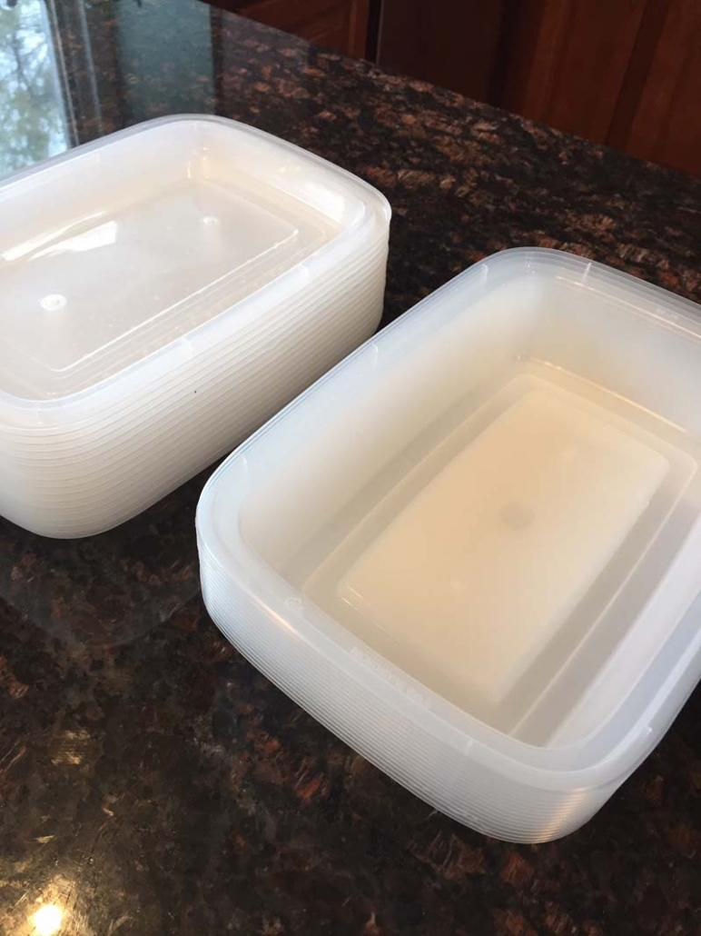 stackable meal prep containers