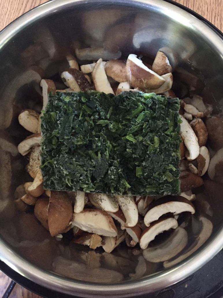 instant pot mushroom soup ingredients