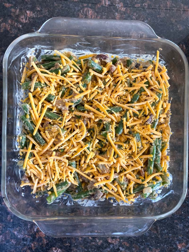 how to make green bean casserole from scratch