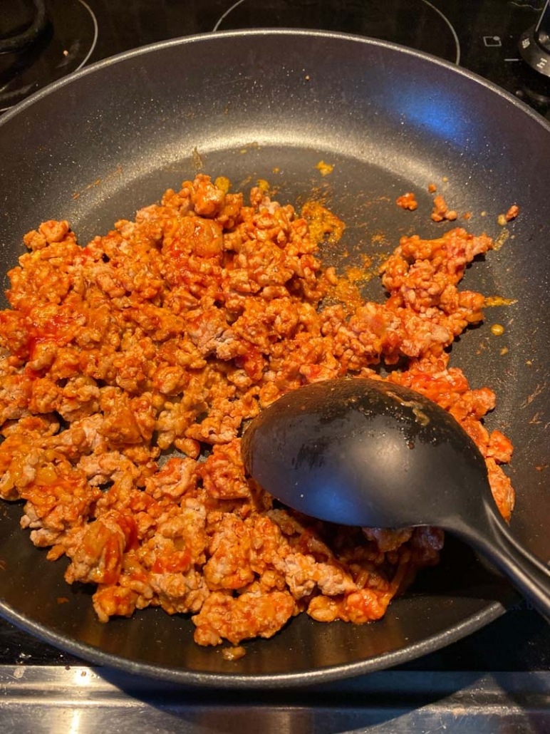 ground turkey filling for stuffed peppers