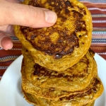 2-Ingredient Sweet Potato Pancakes (Gluten-Free, Paleo)