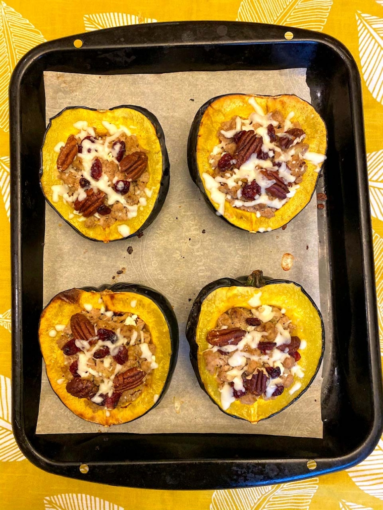 easy stuffed acorn squash recipe