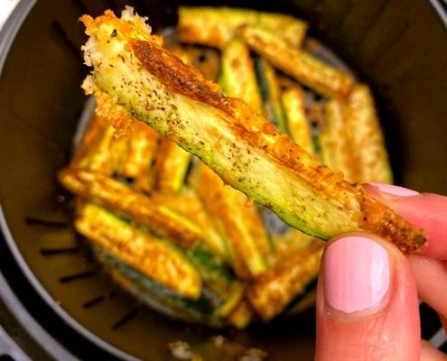 Keto Air Fryer Zucchini Fries