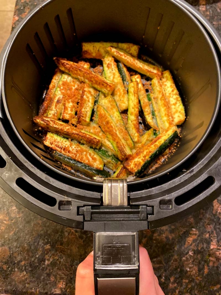 zucchini fries in the air fryer