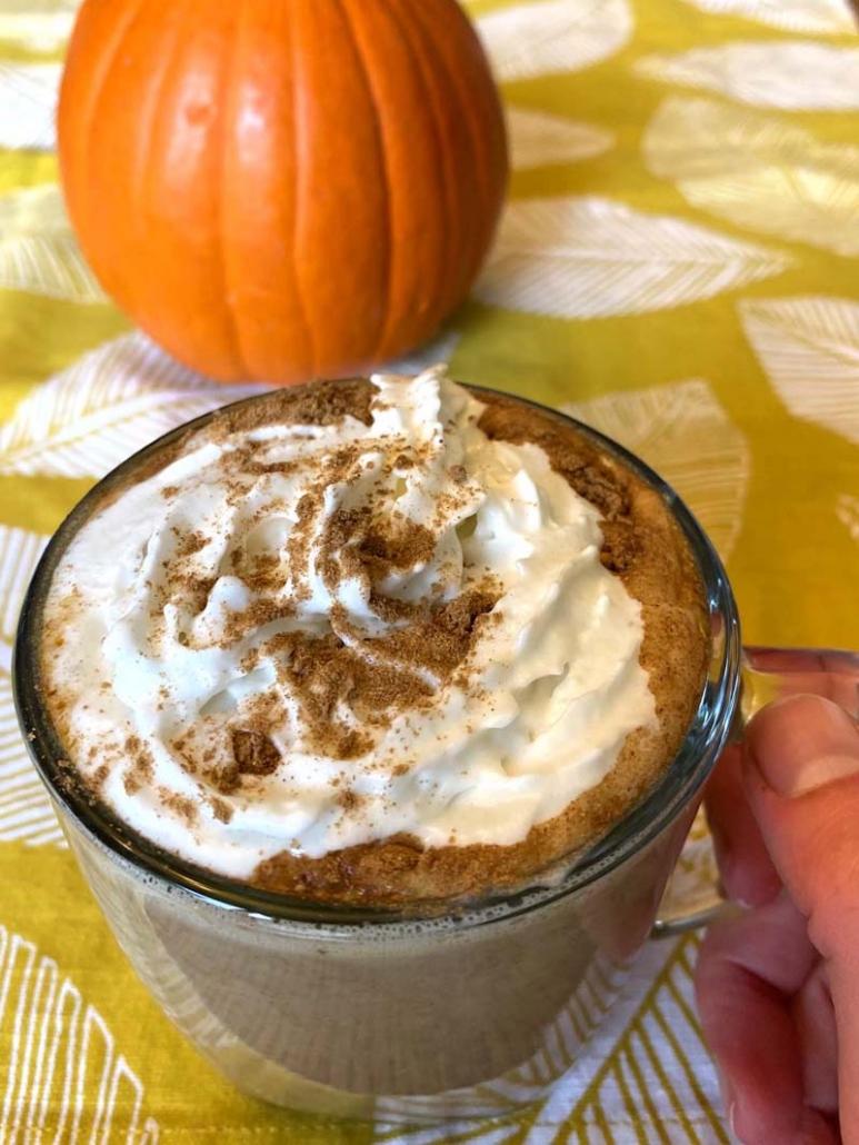 Keto Pumpkin Spice Latte