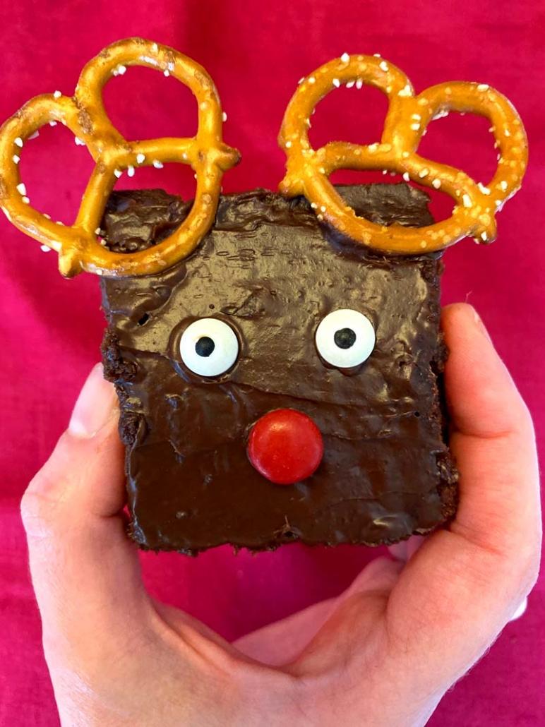 rudolph brownie