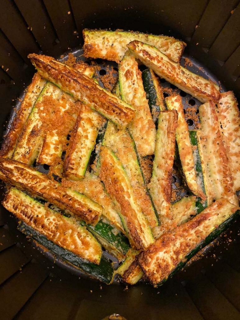 air fryer zucchini keto