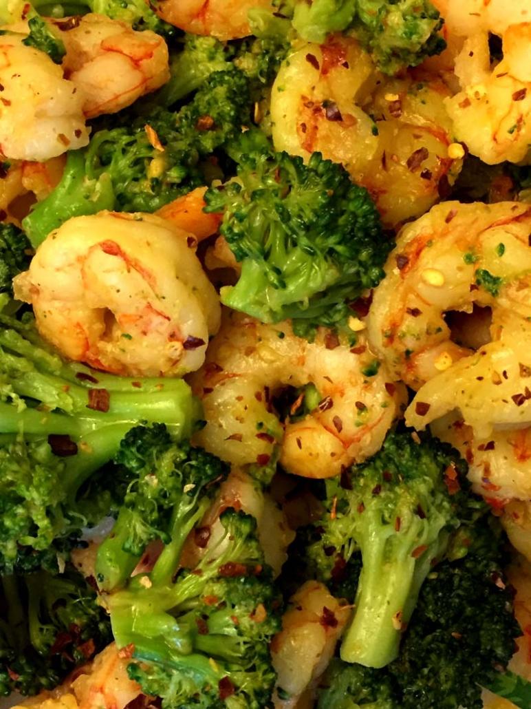 how to make shrimp and broccoli stir fry