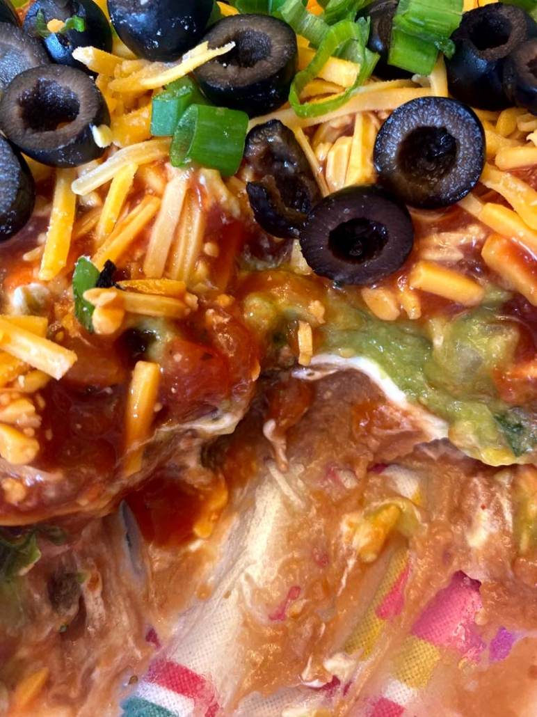 best ever 7 layer dip