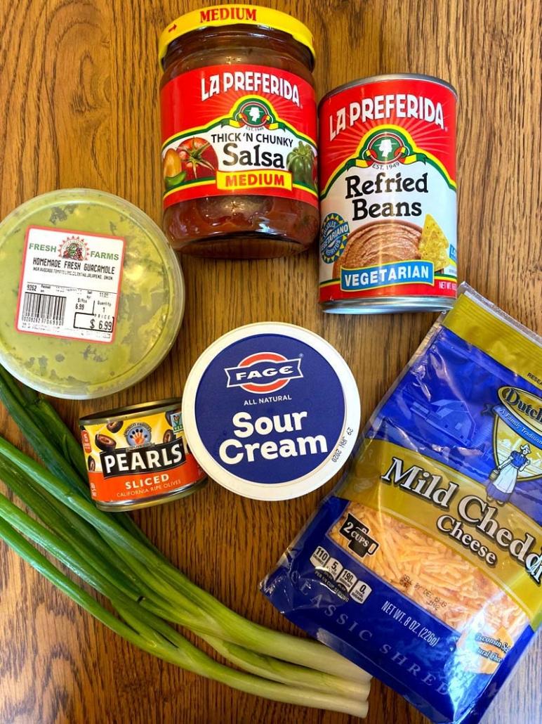 seven layer dip ingredients