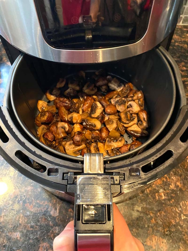 how to cook mushrooms in the air fryer