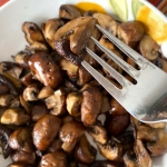 Air Fryer Mushrooms