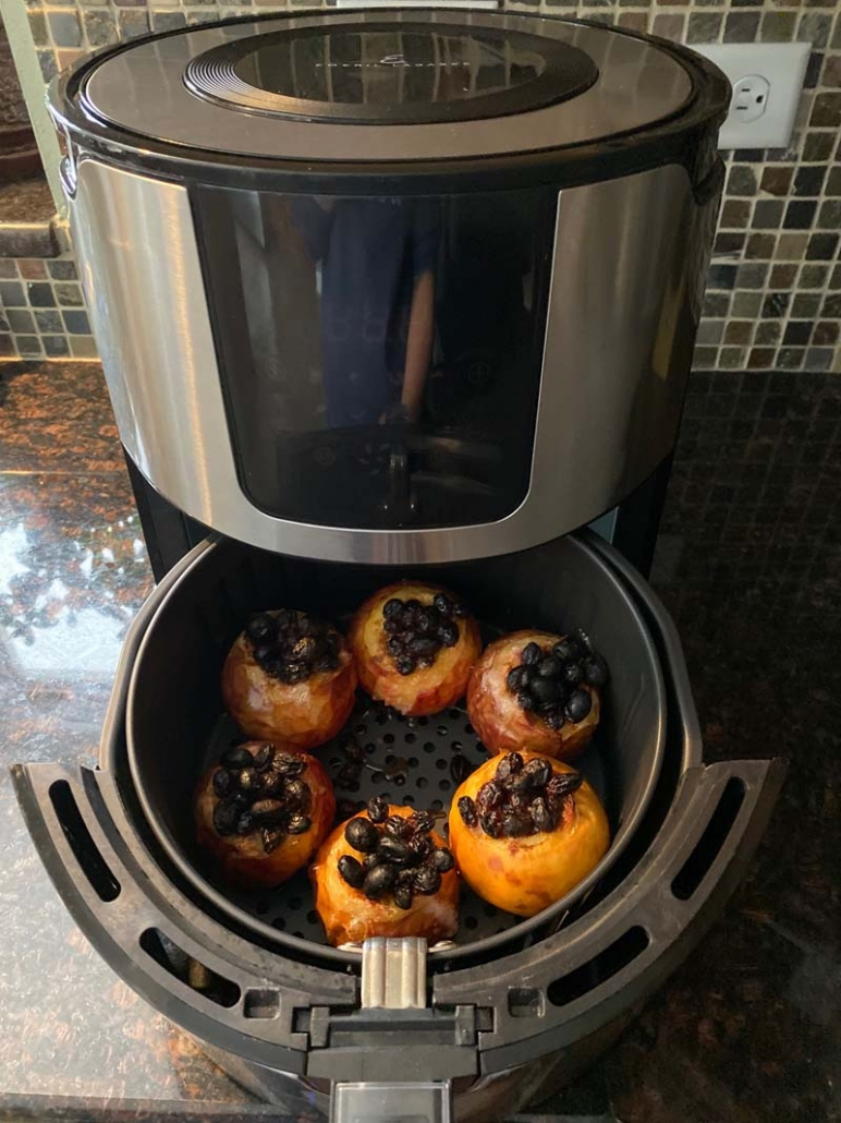 How To Make Baked Apples In The Air Fryer