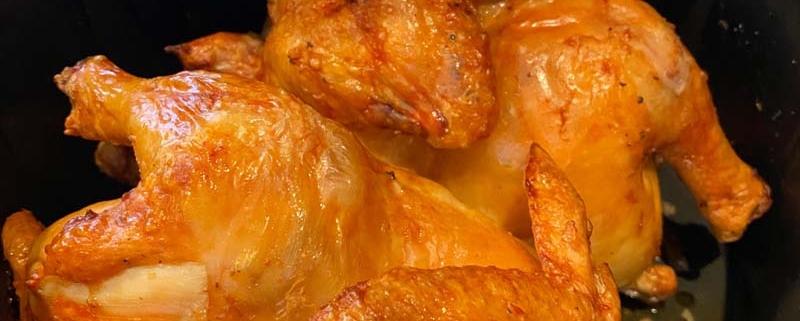 air fryer cornish hens