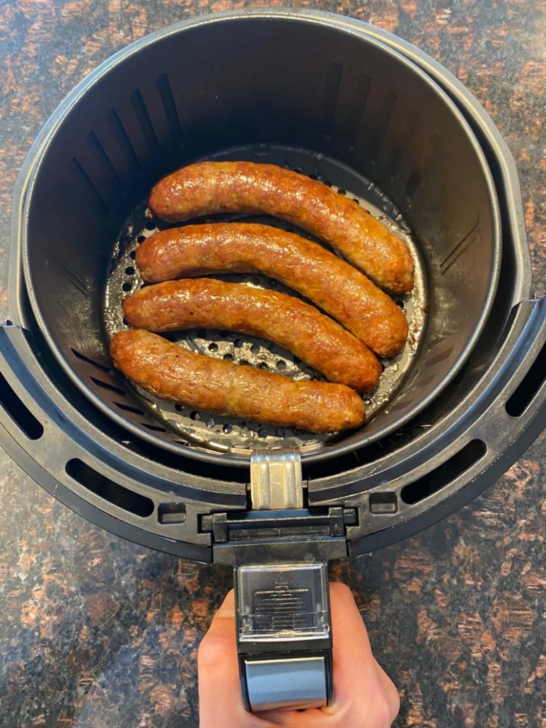 air fryer italian sausages