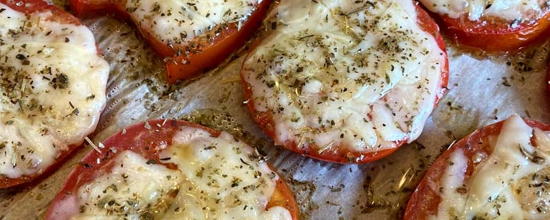 Roasted Parmesan Tomatoes