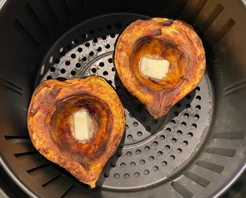 Air Fryer Acorn Squash