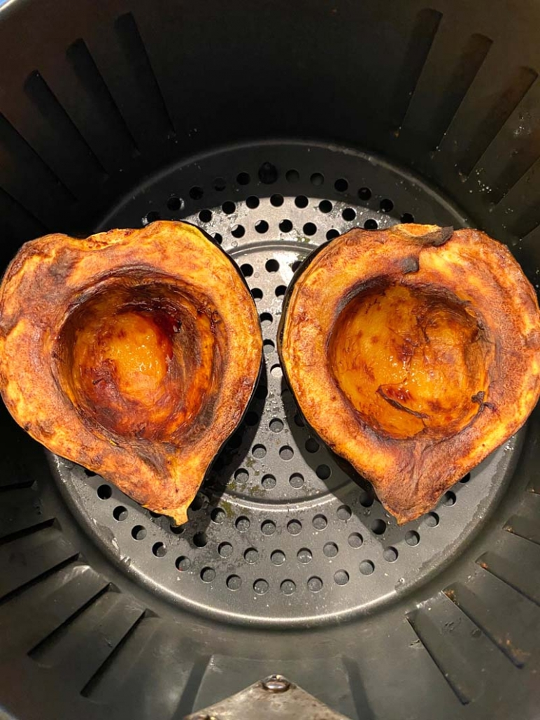 air fried acorn squash recipe