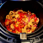 Air Fryer Chicken Fajitas