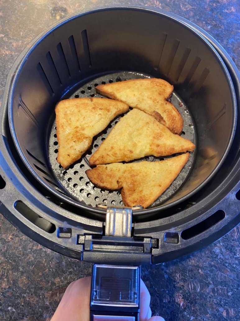 french toast from scratch in the air fryer