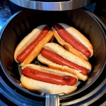 Air Fryer Hot Dogs
