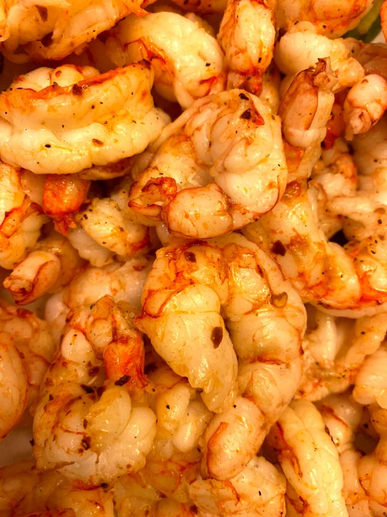 air fried frozen shrimp
