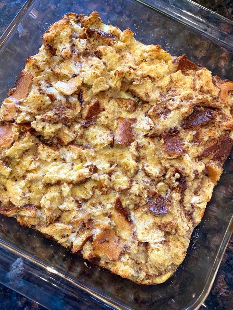 easy leftover bread casserole recipe