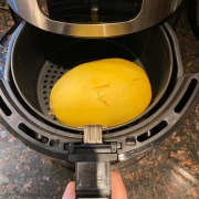 Air Fryer Whole Spaghetti Squash