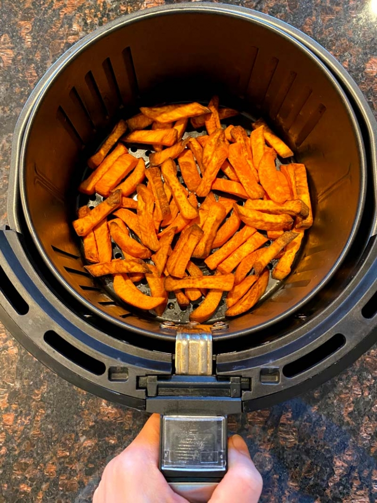 air fries sweet potato fries