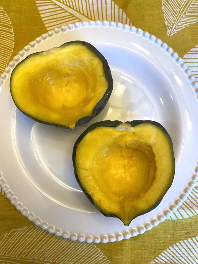 microwave acorn squash