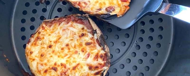 Air Fryer Portobello Pizza