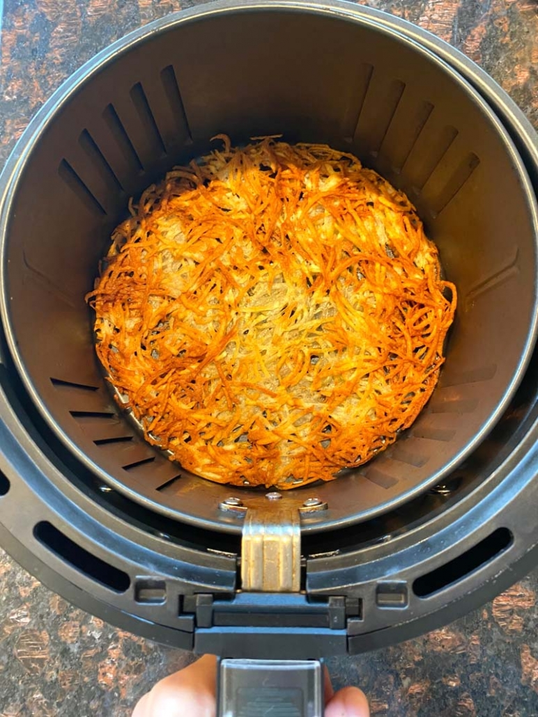 hashbrowns in the air fryer